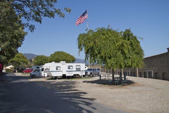 Santa Barbara Sunrise RV Park : A view of our park