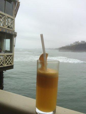 La Rosa Nautica Restaurante: Marauja suco
