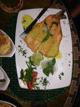 Indio Feliz Restaurant Bistro: salmon trout plate