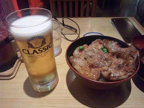 Butadon no Butahage, Obihiro Honten: 豚丼