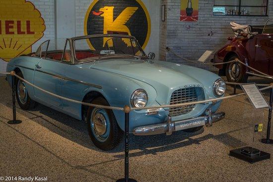 Volvo Museum: Nice convertible