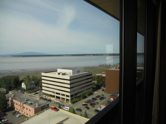The Hotel Captain Cook: view from room