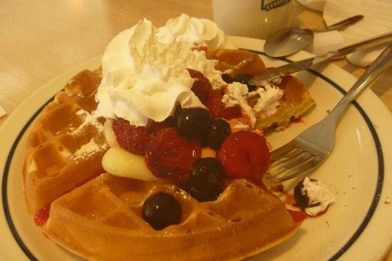 IHOP: Waffles