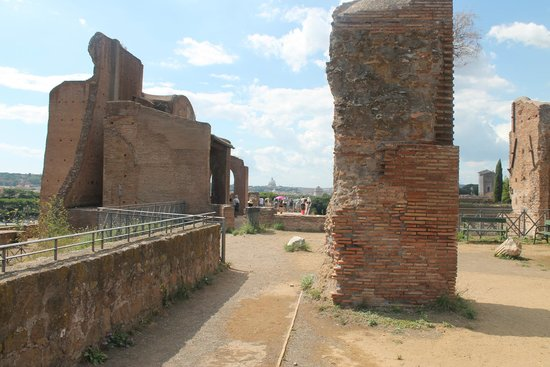 The top of Palatine Hill