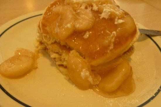 IHOP: Pancakes with apple