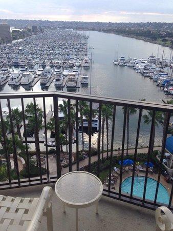 The Sheraton San Diego Hotel & Marina : 11th floor harbor view