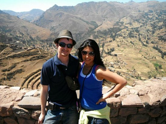 Pisac: Us on our visit!