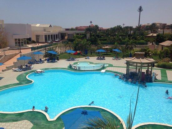 Aurora Oriental Resort Sharm El Sheikh: Pool view