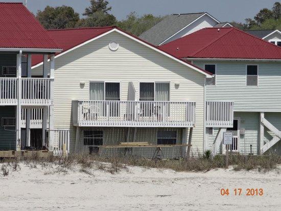 Ocean Crest Motel: our room