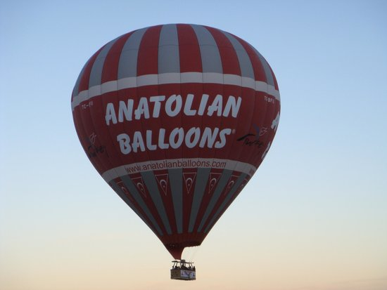 Goreme Balloons: up and away