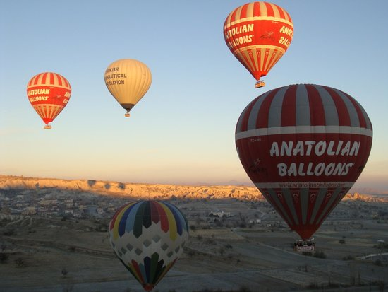 Goreme Balloons: balloons here and there