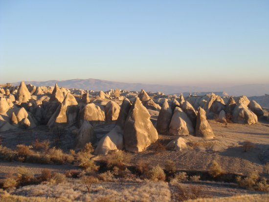Goreme Balloons: more fairy chimneys