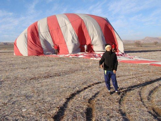 Goreme Balloons: landed