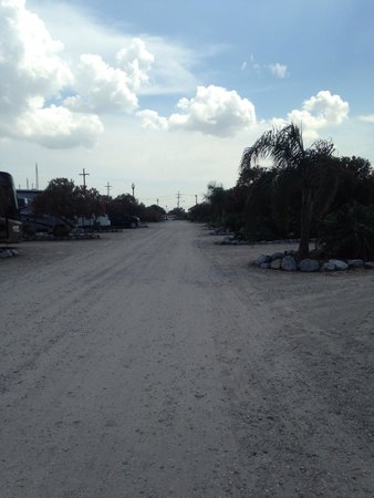 Ponchartrain Landing RV Park and Marina : Unpaved roads 201408