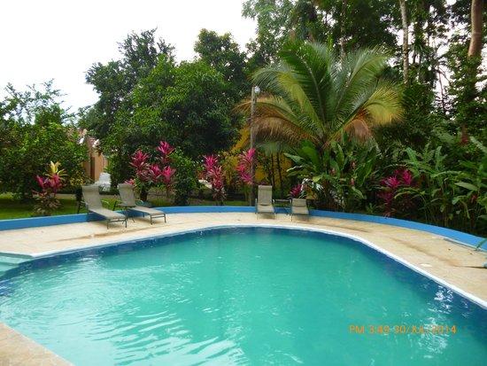 Hotel Lavas del Arenal: Zona de relajación...