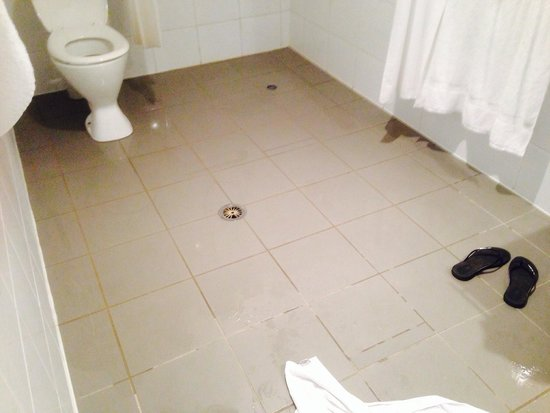 The Sebel Pelican Waters Golf Resort & Spa: Again hard to sit down to go to toilet when flooded