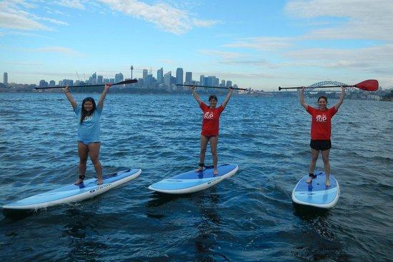 Sydney Scenic SUP: Mosman, June 2014