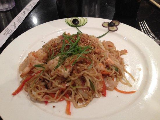 Fuji Sushi and Steak House: Seafood soba