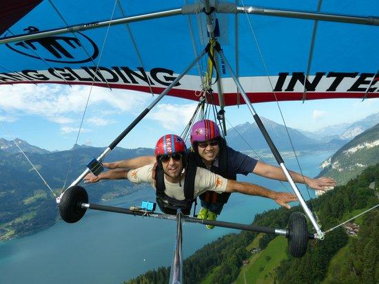 Hang Gliding Interlaken: Dave and Ed