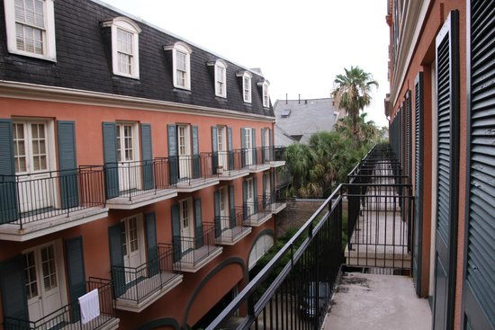 Dauphine Orleans Hotel : From The Balcony