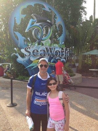 SeaWorld Orlando : Entrada do parque
