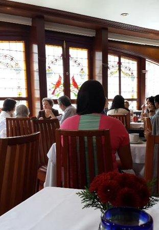 Restaurante El Cardenal: Primer piso