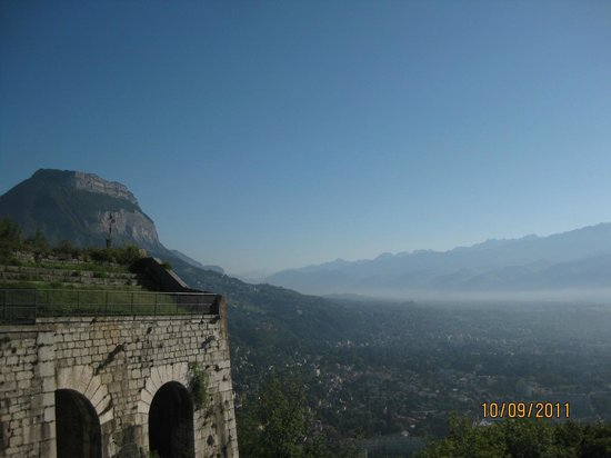 """Bastille Téléphérique : view of """"Mont Blanc"""""""