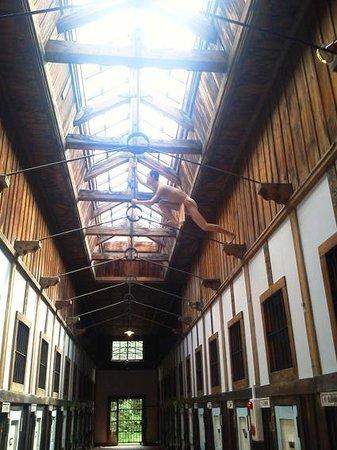 Abashiri Prison Museum: 結構リアルです