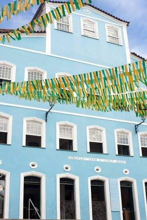 Jorge Amado's house in Pelourinho.