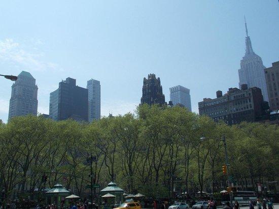 Bryant Park : El parque es un oasis en la ciudad