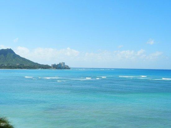 Outrigger Reef Waikiki Beach Resort: 朝の眺め