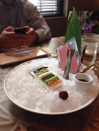 Japonais by Morimoto : Tuna tartar