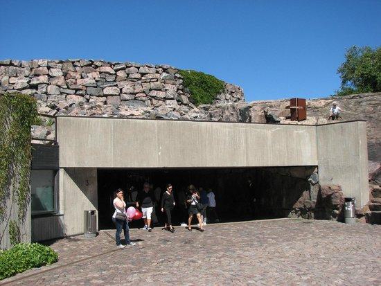 Iglesia de Piedra: Entrance