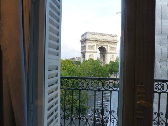 Hôtel Splendid Étoile: 部屋から