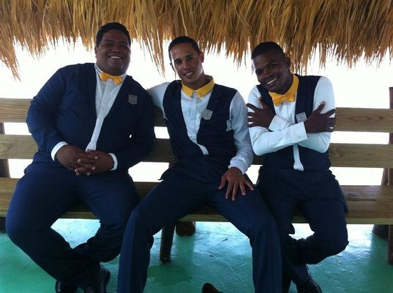 Iberostar Grand Hotel Bavaro: The three musketeers....best guys ever!!!!!