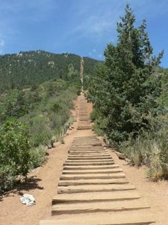 Manitou Springs Incline : Manitou Incline