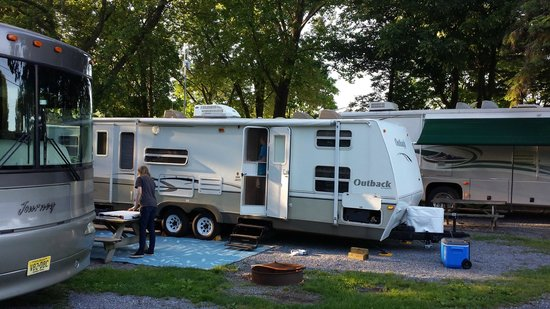 Hummelstown, PA: Camp Site