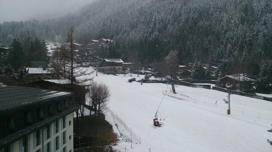 Club Med Chamonix Mont-Blanc : Vista do Quarto - Drag Lift