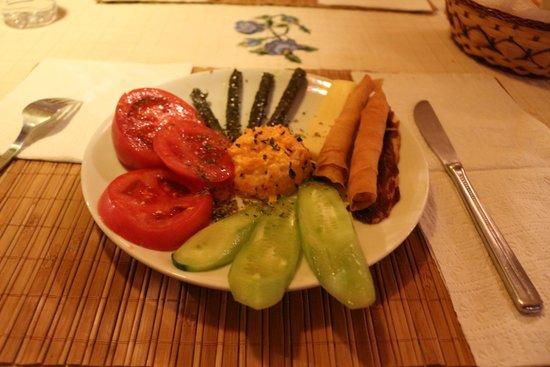 Pumpkin Goreme Restaurant and Art Gallery: 4개의 코스 중 에피타이져
