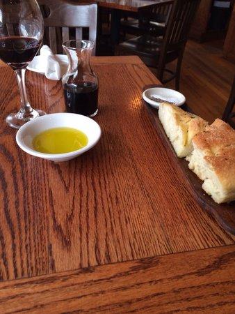 The Corner Room Kitchen & Bar: Good bread