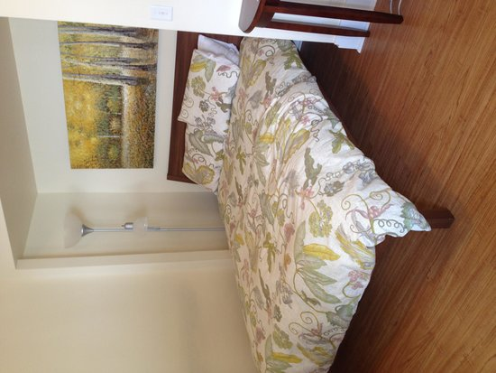 "Sauerdough Lodging: Bed in the ""Sleeper"" apartment"
