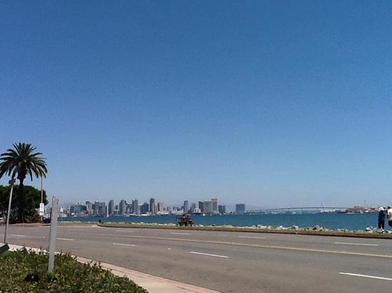 Hilton San Diego Airport/Harbor Island: City view from hotel