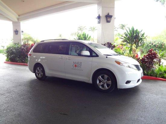 Maui Coast Hotel: Voiture avec chauffeur