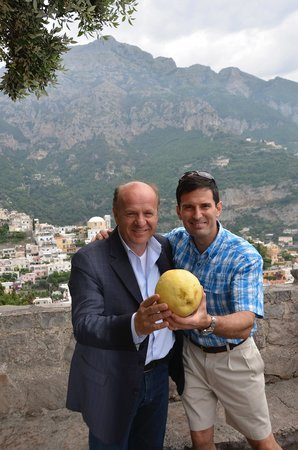 Your Tour in Italy by Aldo Monti : Salvatore (left), Me and a HUGE Lemon