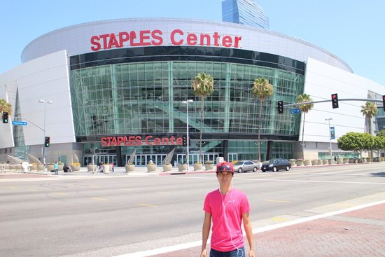 Staples Center: My first time at staple