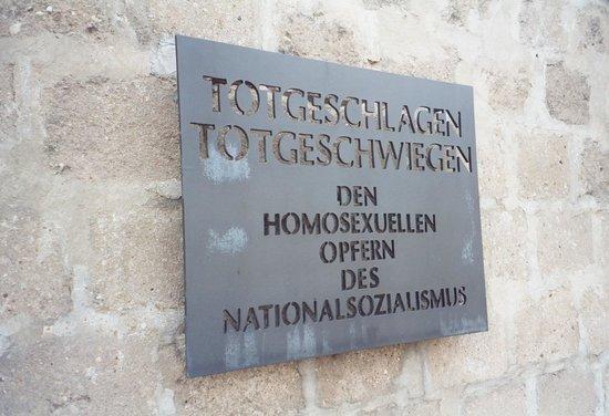 Gedenkstätte und Museum Sachsenhausen: Memorial to Homosexuals