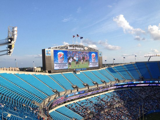 ‪The Bank of America Stadium‬