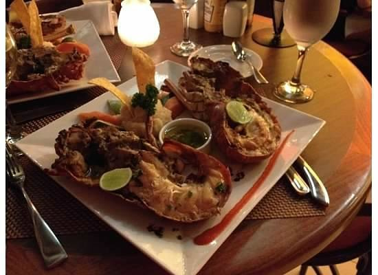 Now Larimar Punta Cana: Blue Water Grill Lobster Dinner