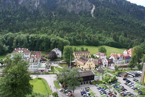 Schloss Hohenschwangau: View from Hohenschwangau