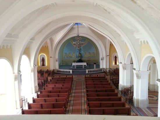 Sanctuary of Iglesia Candelaria from Balcony